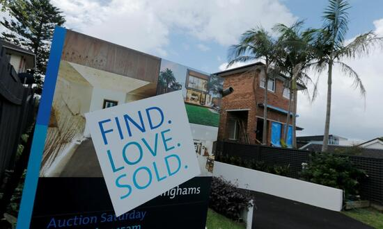Property prices in Australia are soaring in response to ultra-low interest rates.
