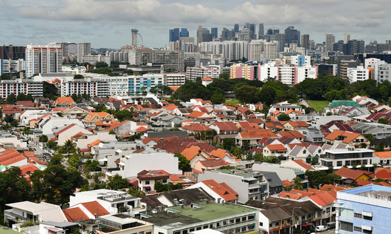 The suburbs accounted for the majority of sales at 59 per cent.